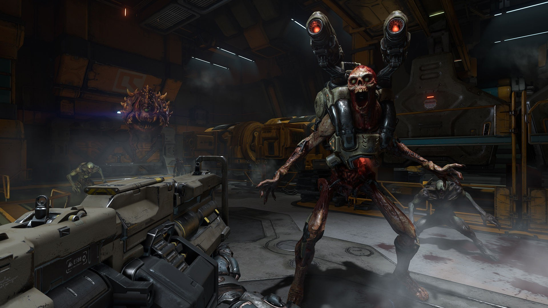 Doom (game), Doom 4, Id Software, Video Games, Shooter, First person  Shooter Wallpapers HD / Desktop and Mobile Backgrounds