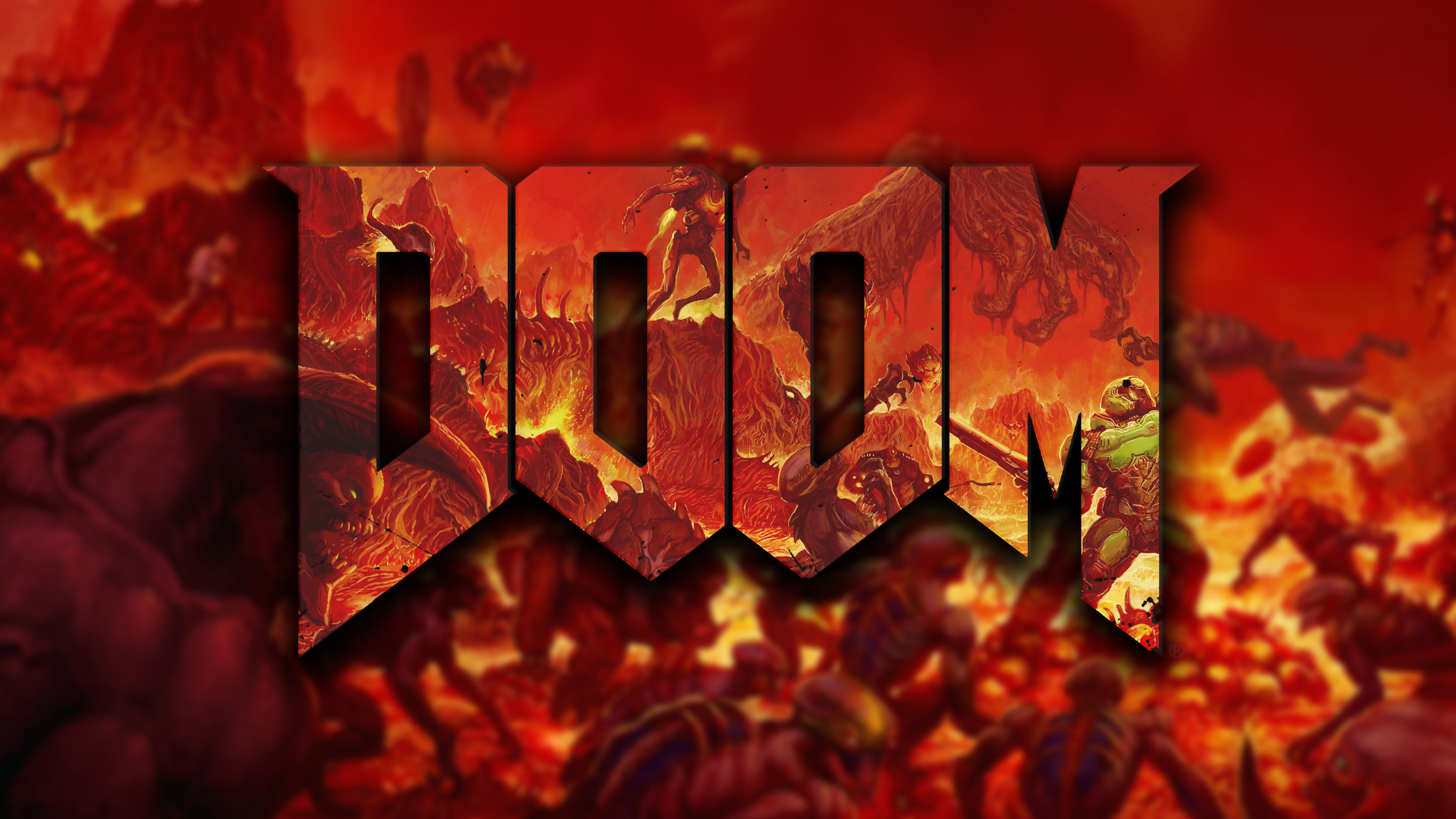 I Made Wallpaper Some Of You might like [DOOM]