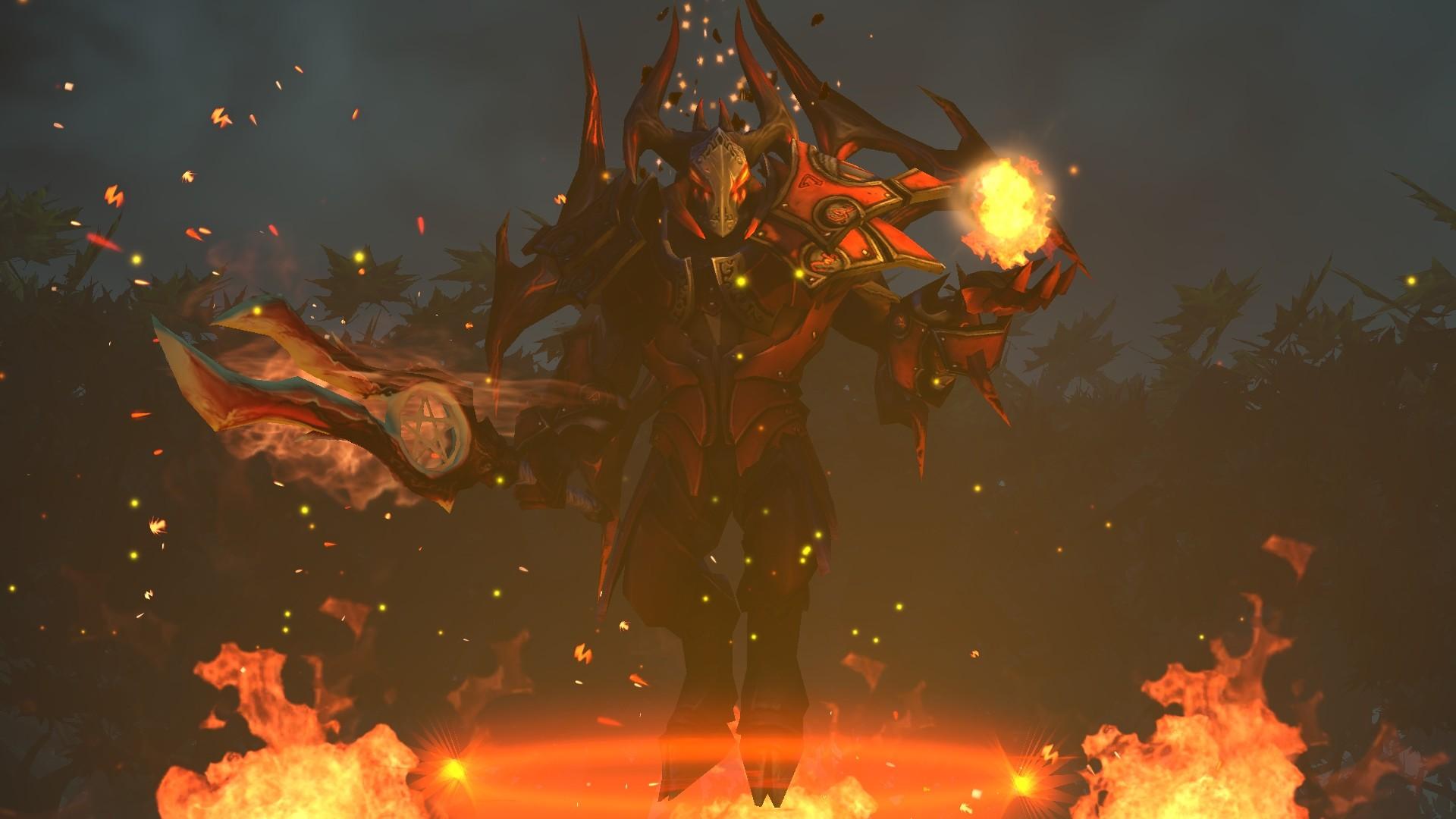 doom lucifer dota 2 set game hd wallpaper