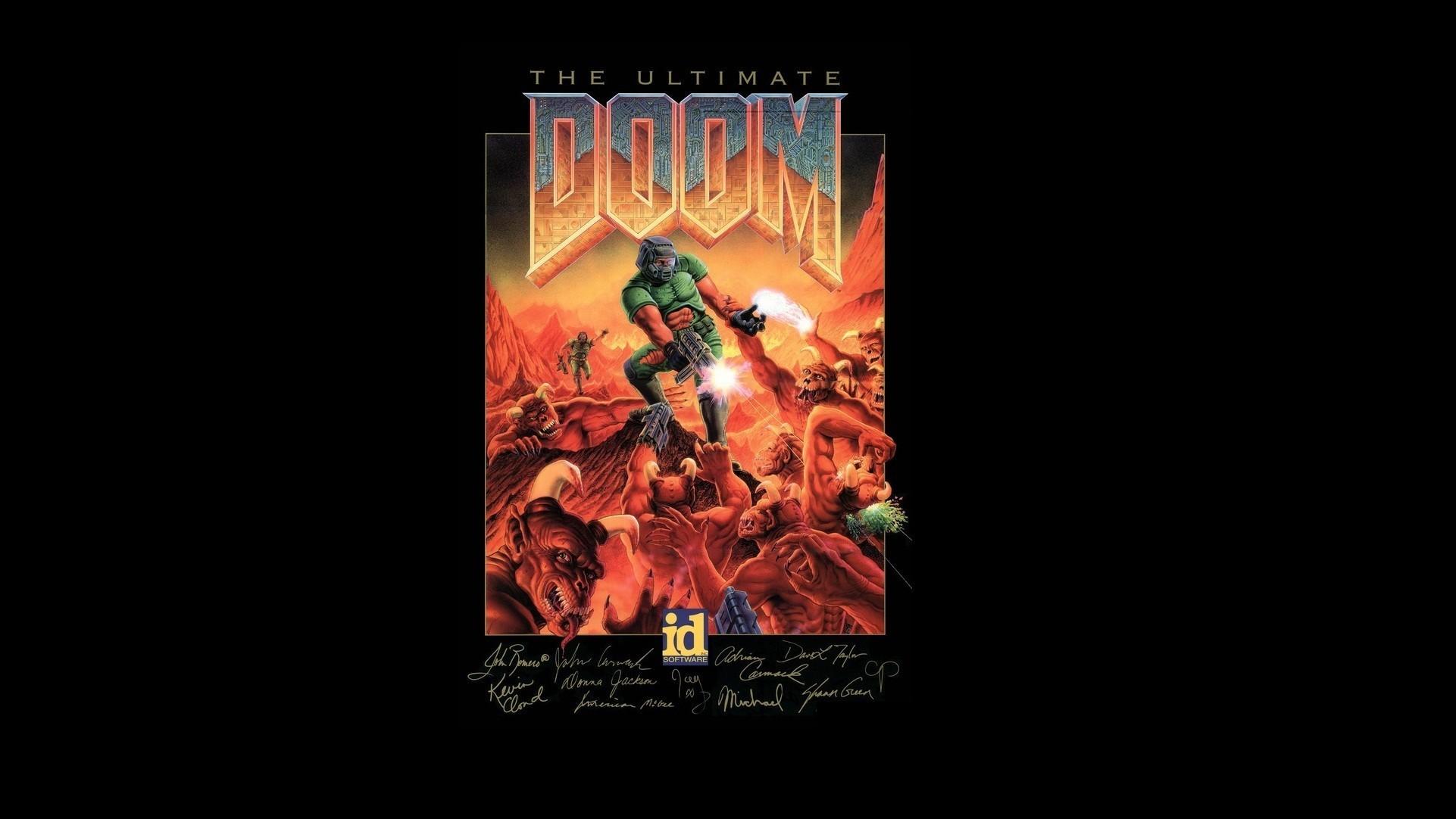 artwork, Doom (game), Video games, Retro games Wallpapers HD / Desktop and  Mobile Backgrounds