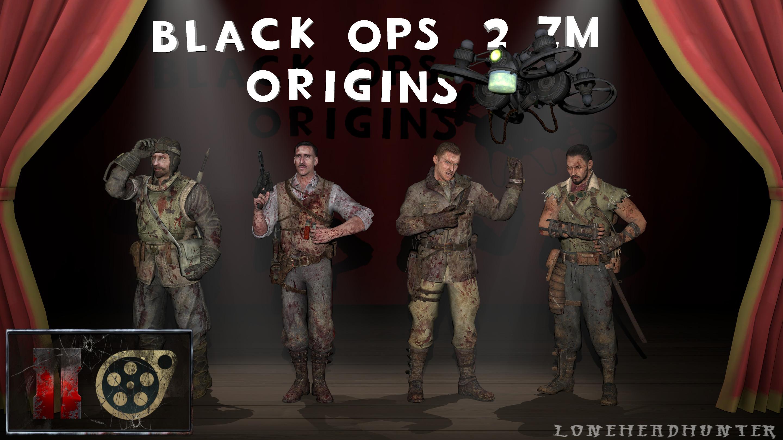 … Black Ops 2 ZM – Origins Characters [SFM] by Jacob-