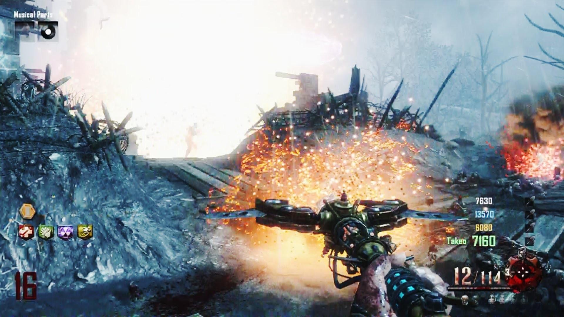 "Black Ops 2 Zombies Origins ""Kagutsuchi's Blood' Wonder Weapon (Ultimate  Fire Staff) – YouTube"