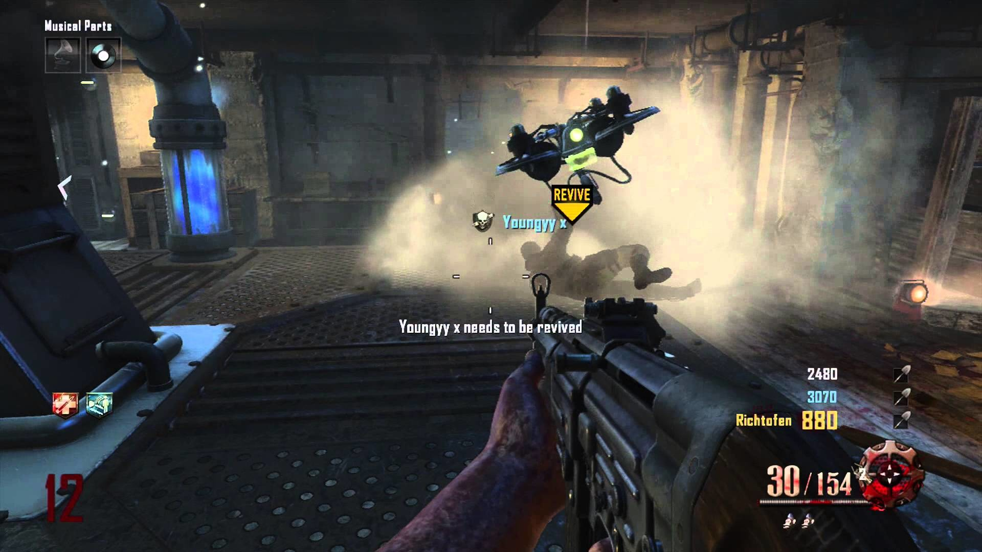 Black Ops 2 Zombies – Origins – Saving the Day…All Day achievement/trophy  guide