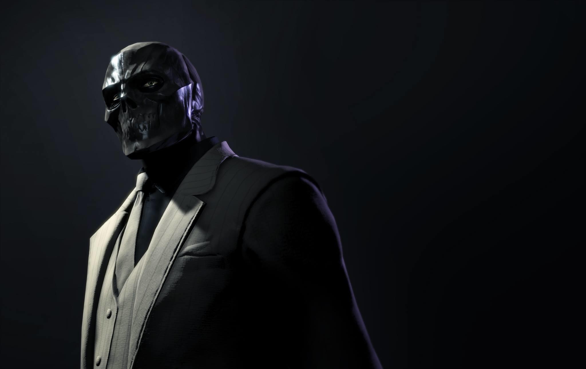 Download Wallpaper Batman arkham origins, Black mask, Roman sionis .