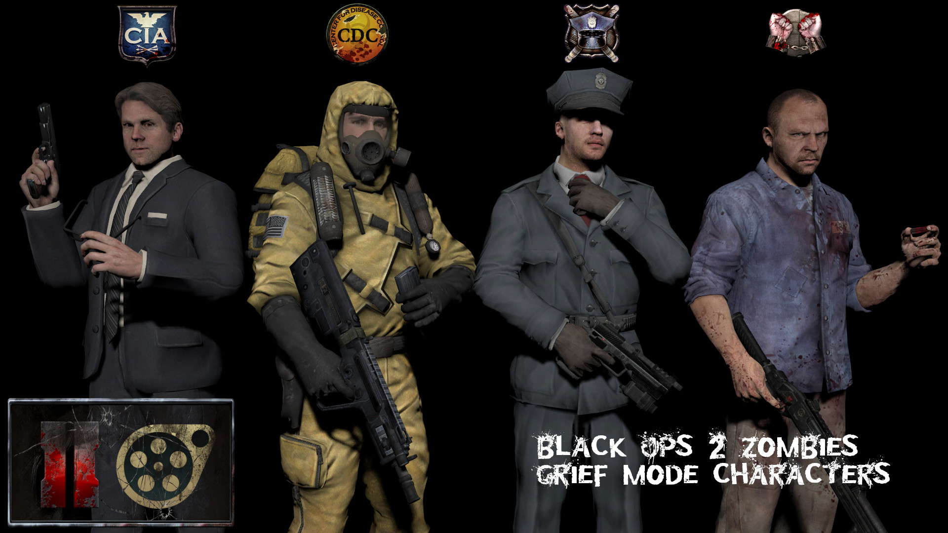 … Black Ops II – Grief characters (DL from Workshop) by Jacob-LHh3