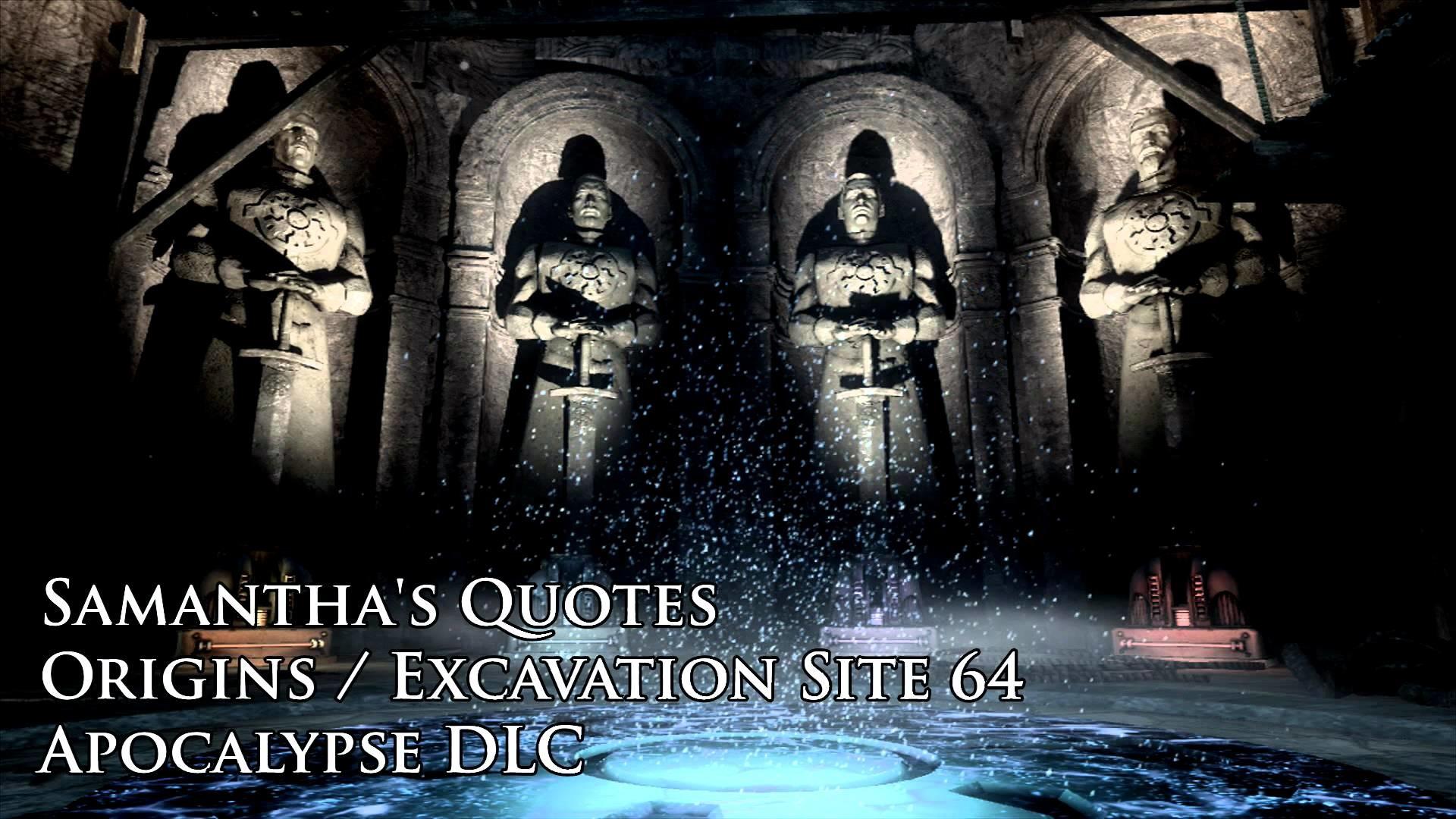 Origins – Samantha's Quotes / Audio Files (Black Ops II Apocalypse DLC) –  YouTube