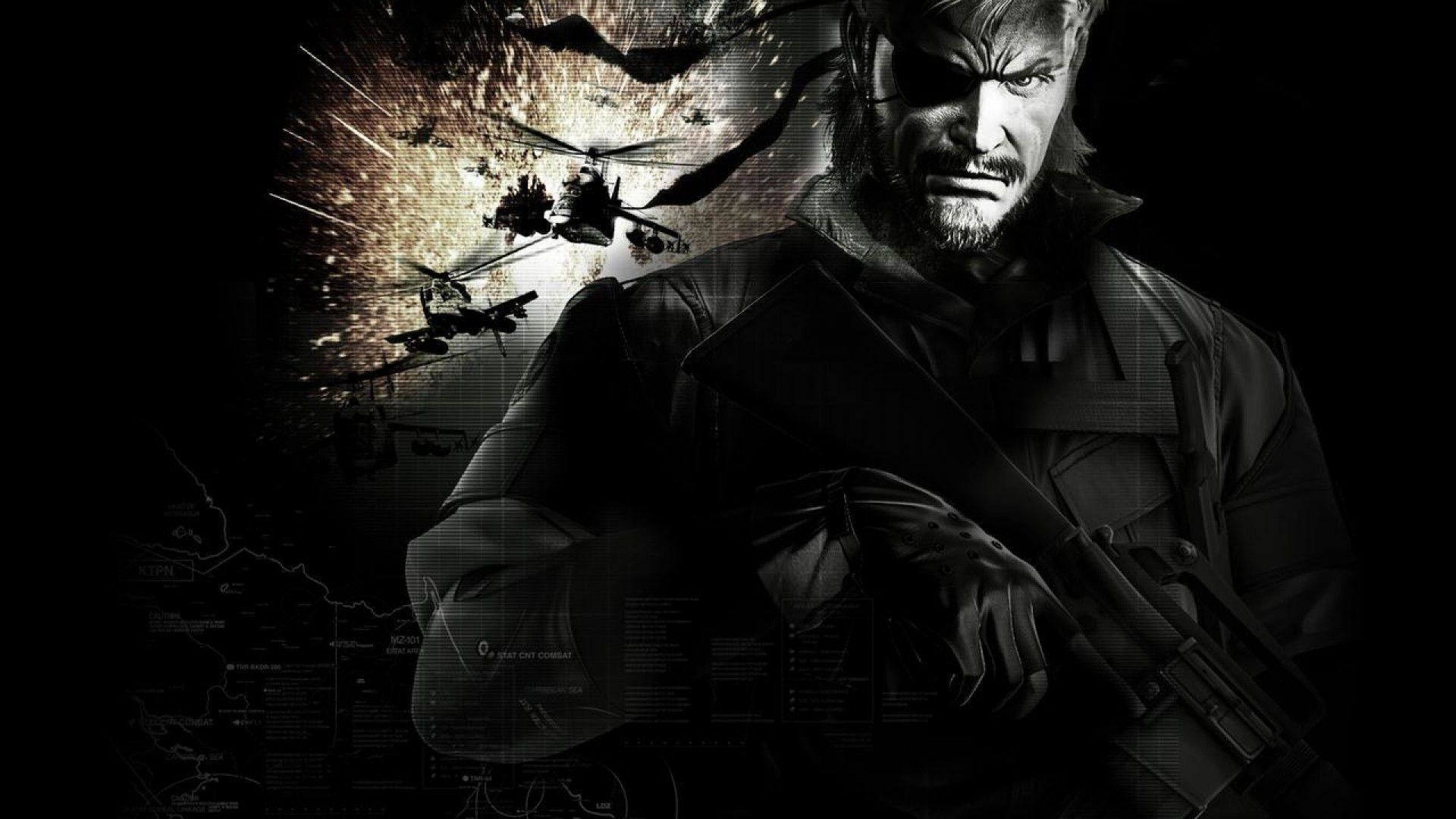Metal Gear Solid 4 Wallpaper 1080p
