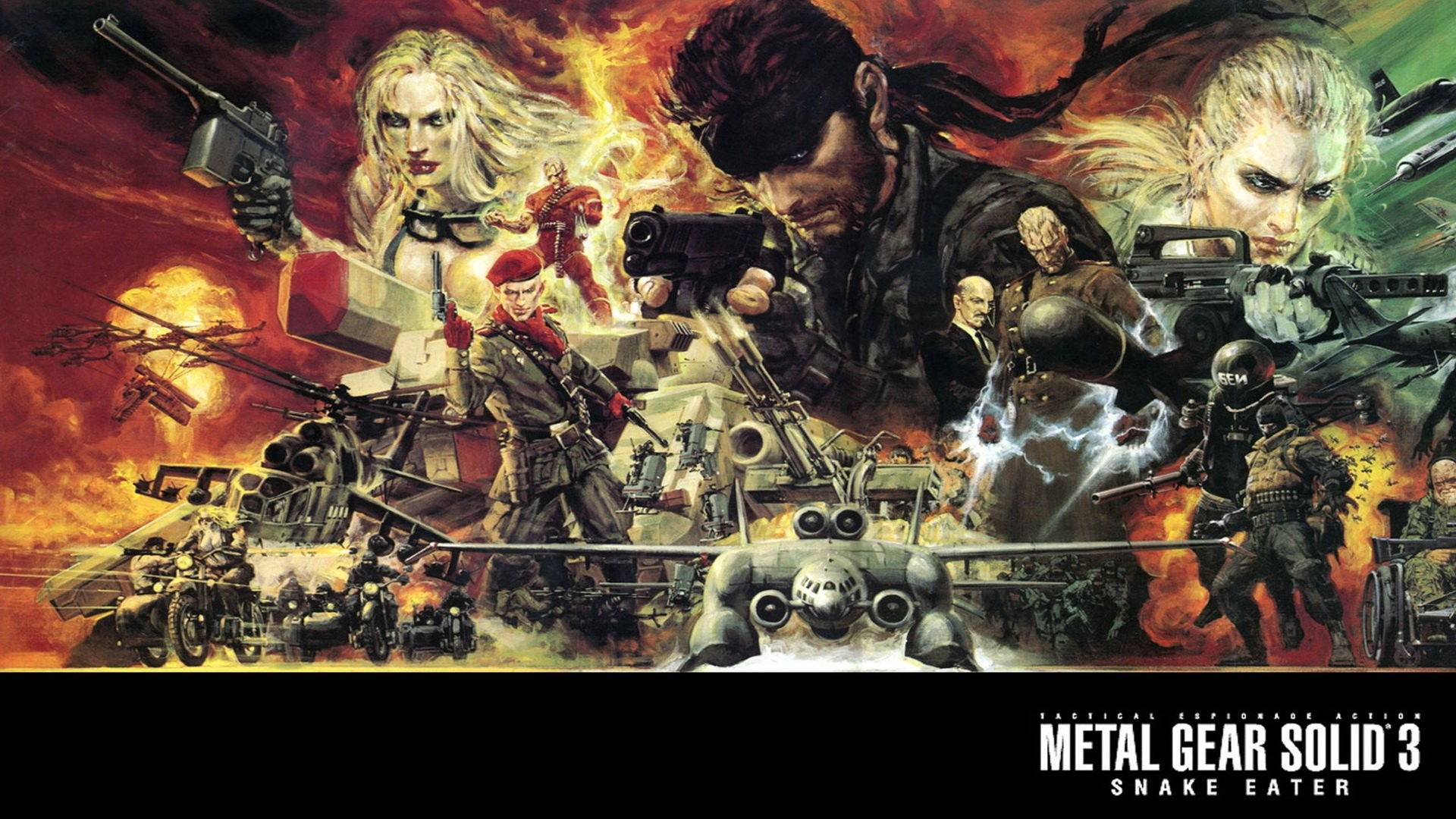 72 Metal Gear Solid Wallpaper 1080p