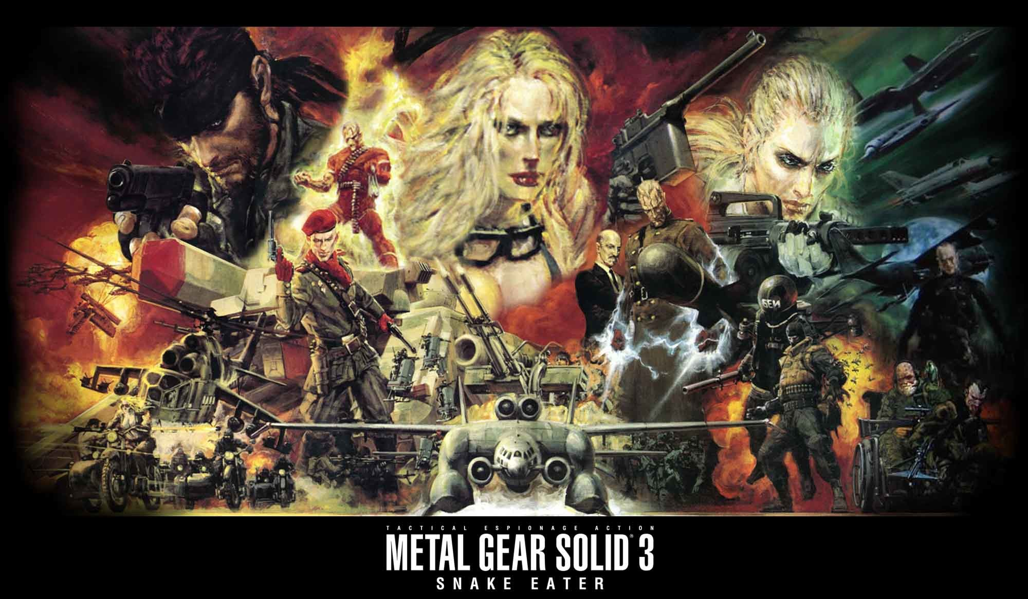 Images For > Metal Gear Solid Portable Ops Wallpaper