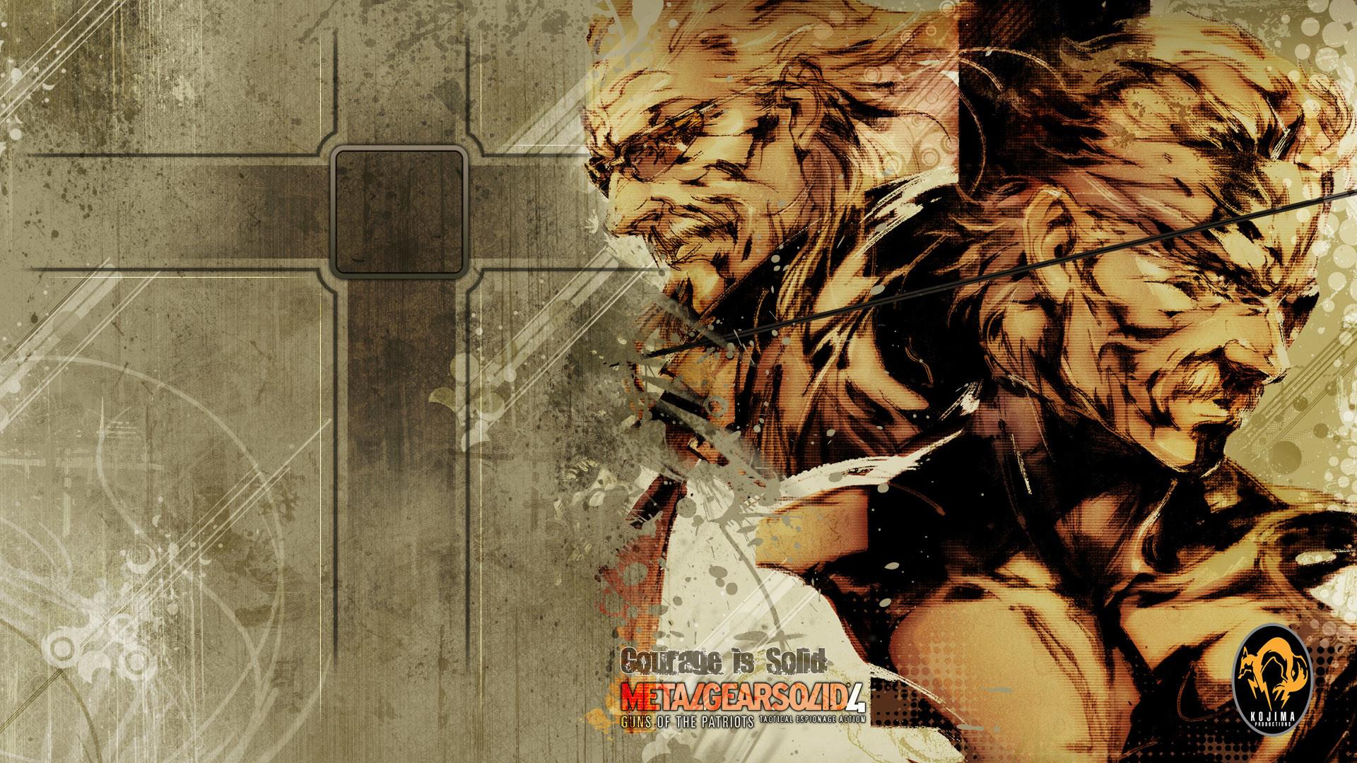 Metal Gear Solid 4 Wallpapers (64 Wallpapers)