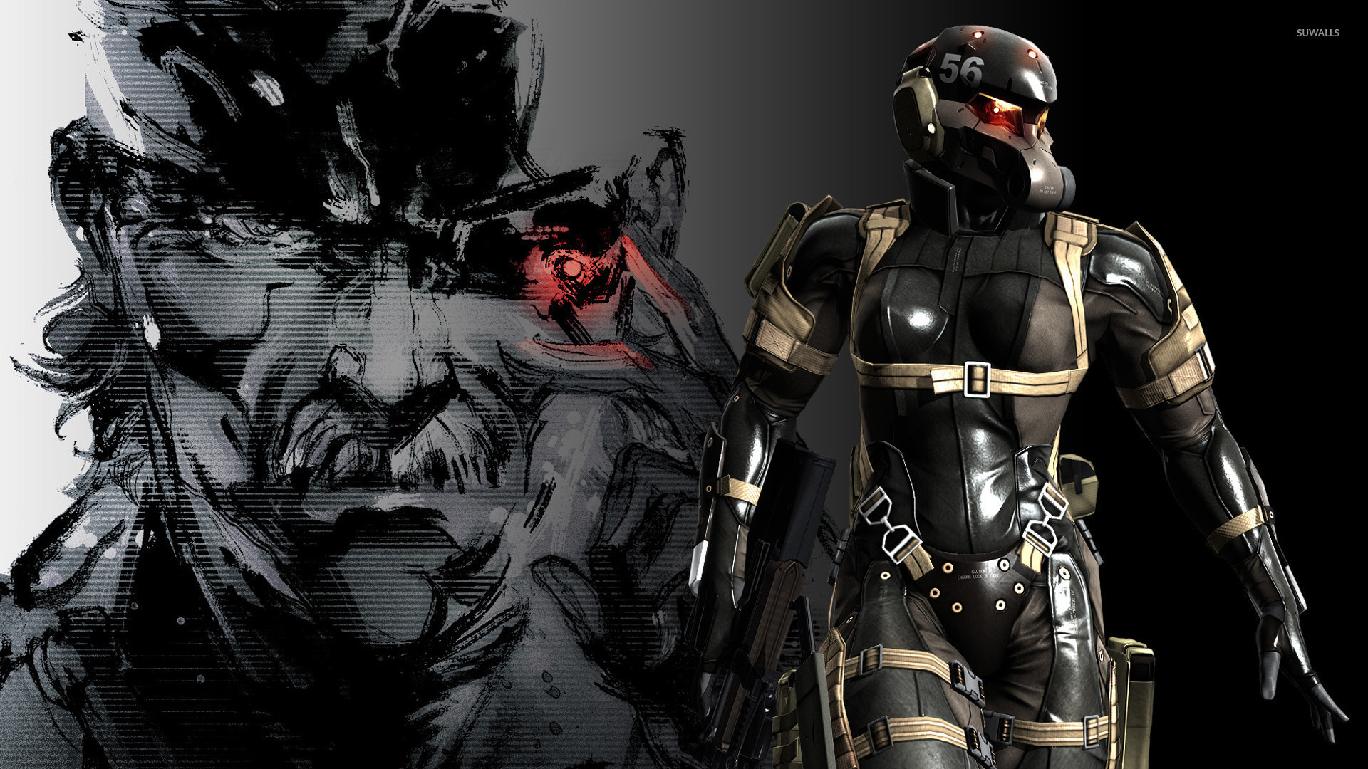 Metal Gear Solid Vi The Phantom Gabe by Fpew on DeviantArt