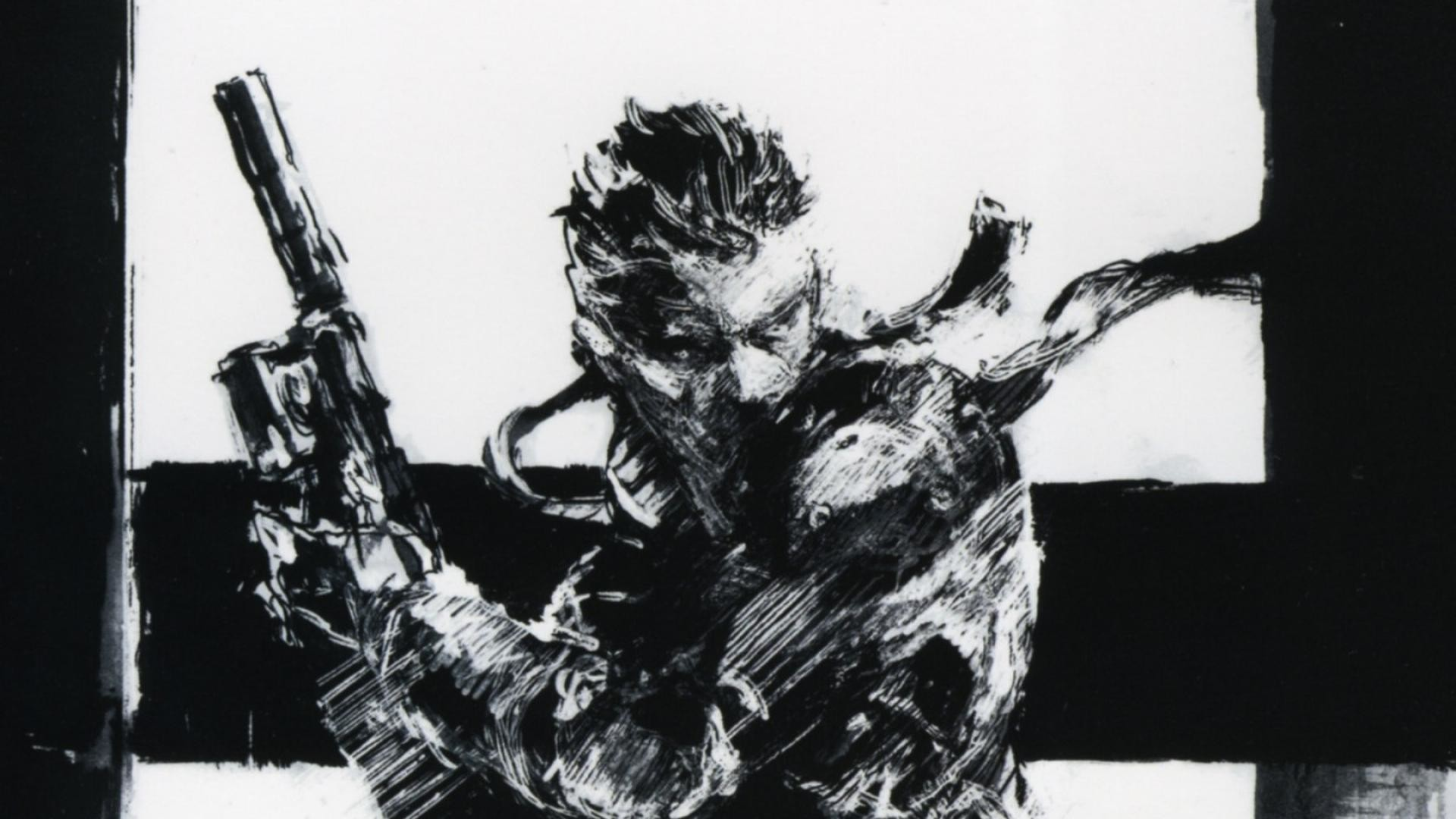 Metal Gear Solid Art