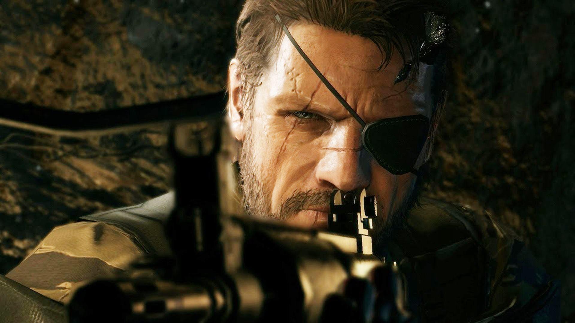 … Metal Gear Solid 5 The Phantom Pain Widescreen Wallpaper