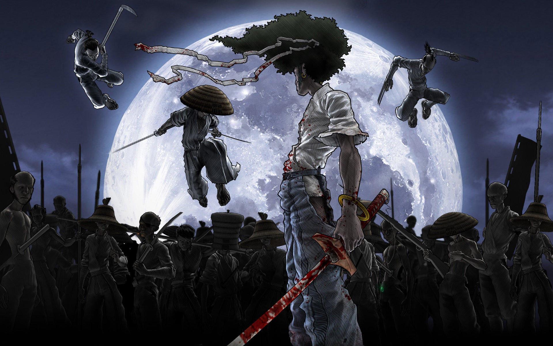Samurai Sword Wallpaper Afro Samurai Wallpaper Hd
