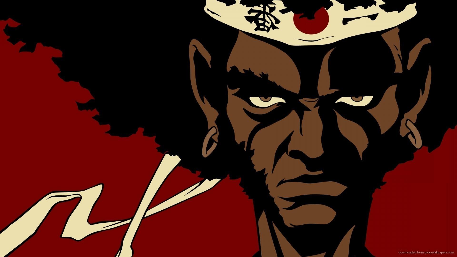 Afro Samurai Anime Cartoon Wallpaper picture