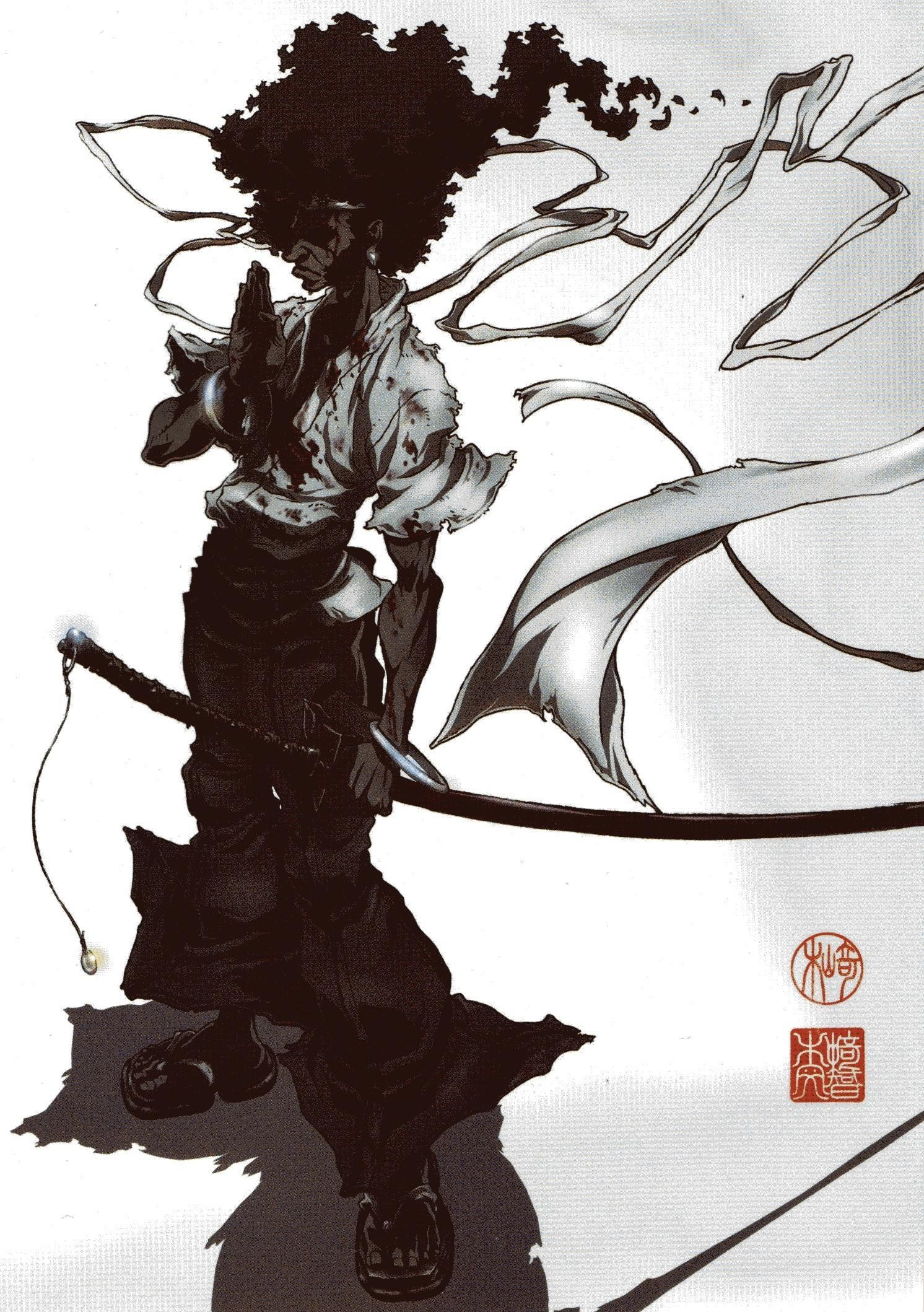 142 Afro Samurai Wallpaper Hd