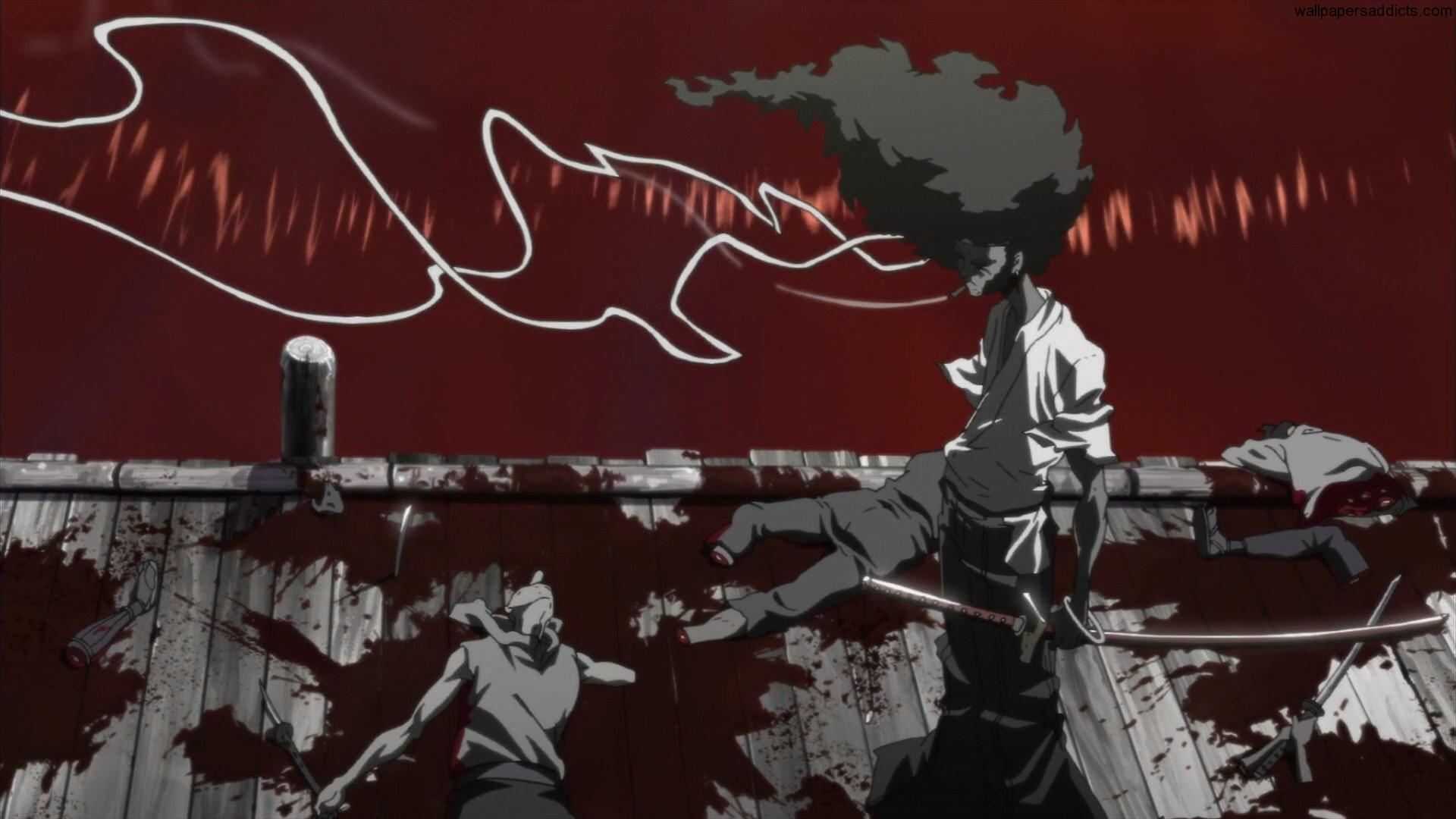 River of Blood – by Afro Samurai