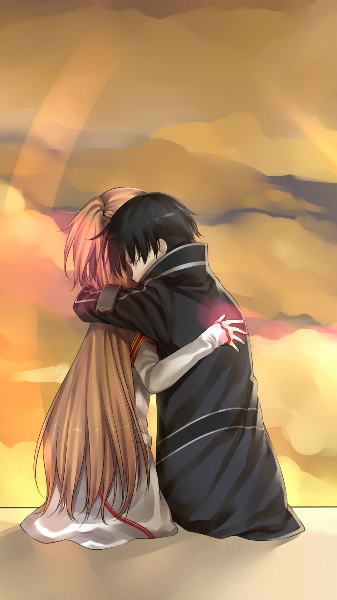 Anime Sword Art Online Kirito Asuna Yuuki. Wallpaper 132669