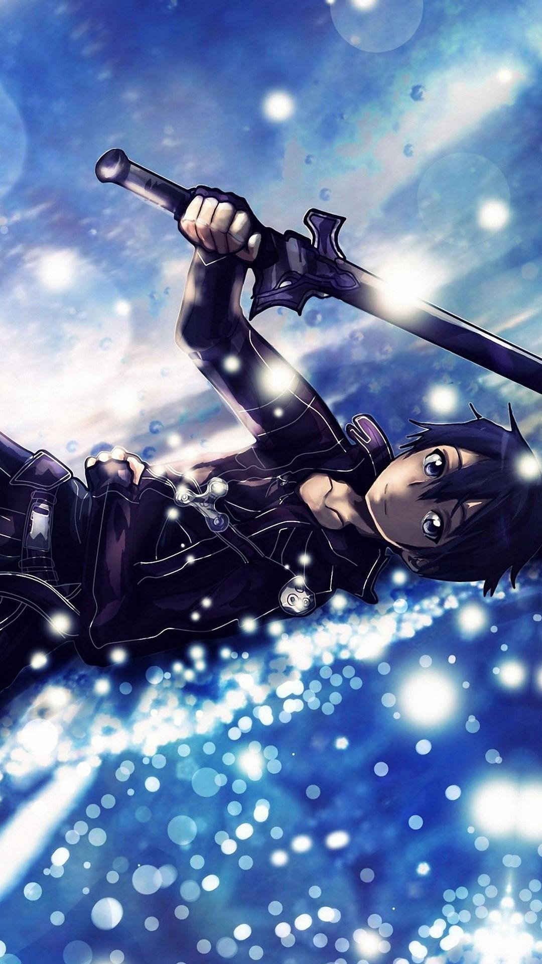 kirito – sword art online iPhone 6s / Plus wallpapers HD