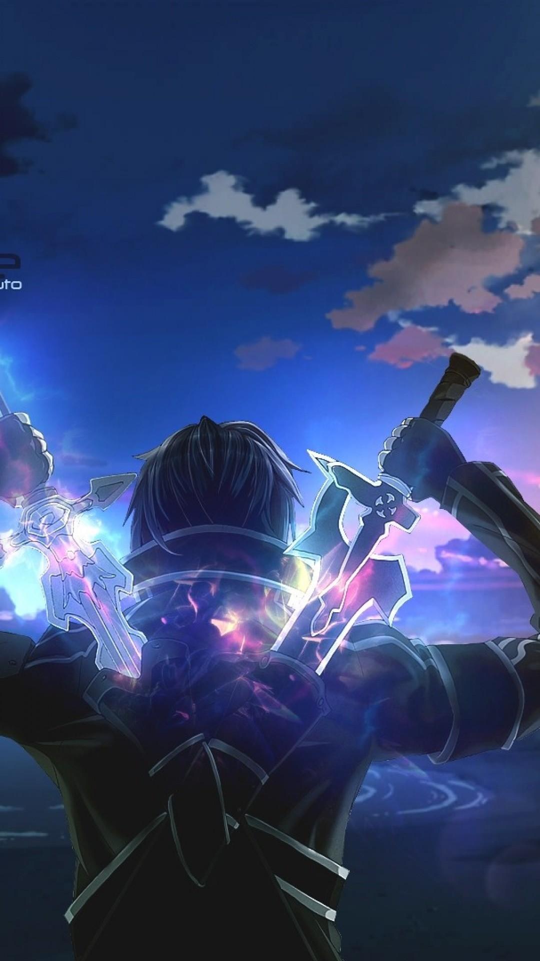 Sword Art Online v1-2 iPhone wallpaper