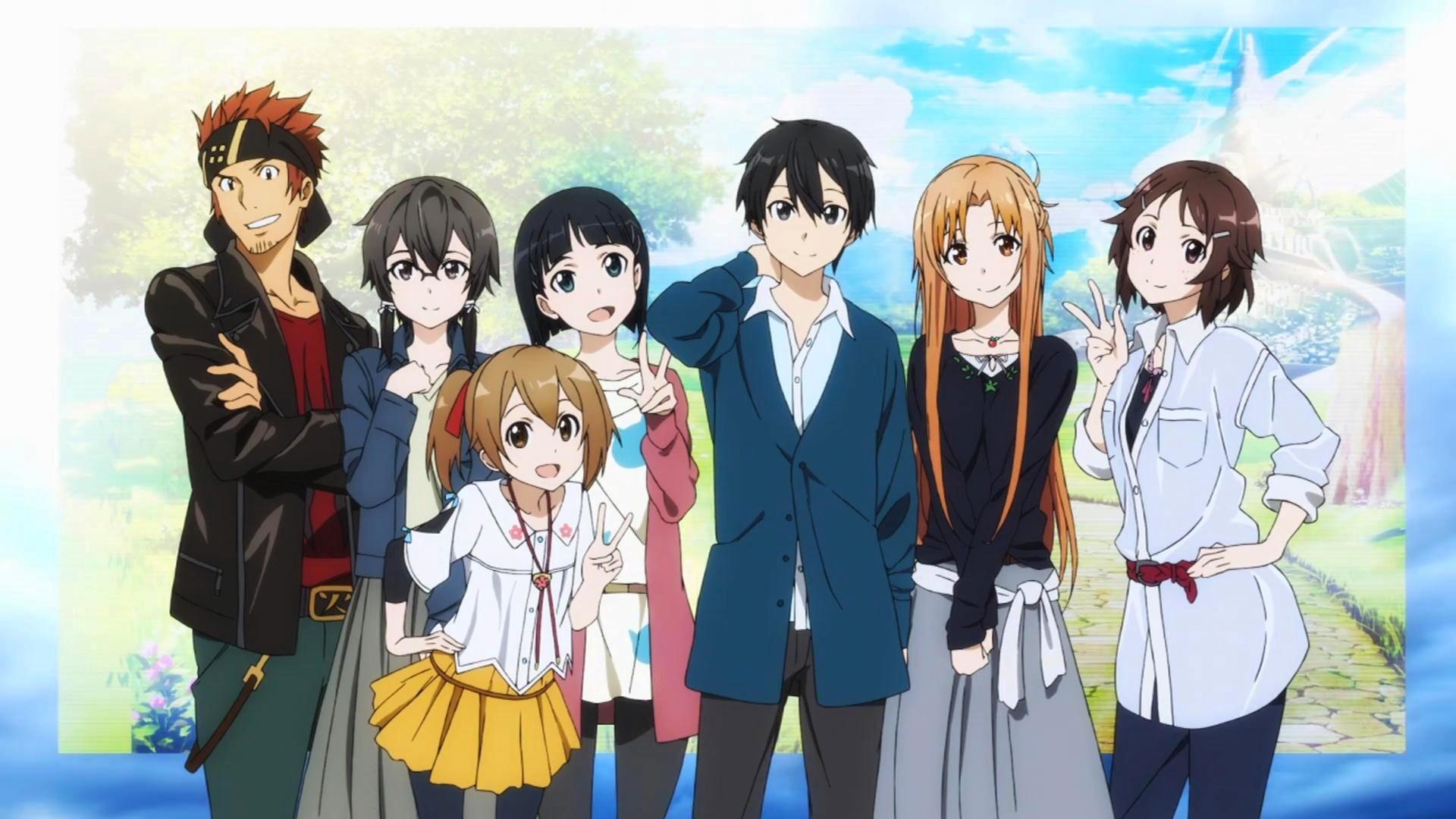 Anime – Sword Art Online II Klein (Sword Art Online) Sinon (Sword Art