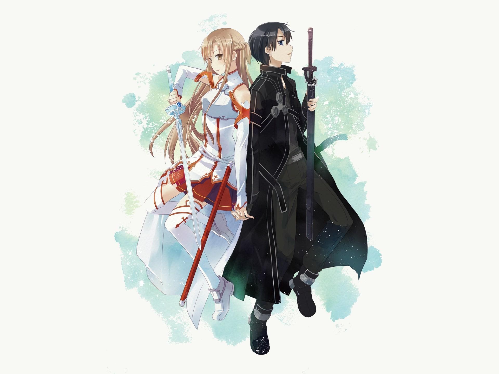 Asuna & Kirito – By Sword Art Online Kirito and Asuna ღ