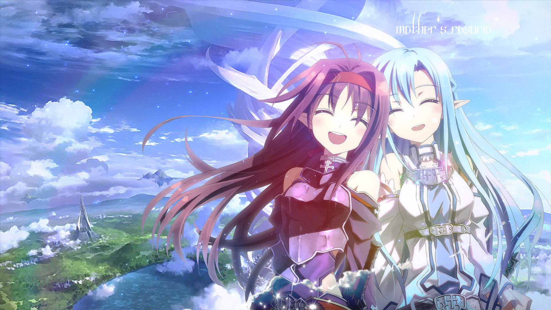 Sword art Online Mother's Rosario ~ Colorful Wish by lysergicX on .