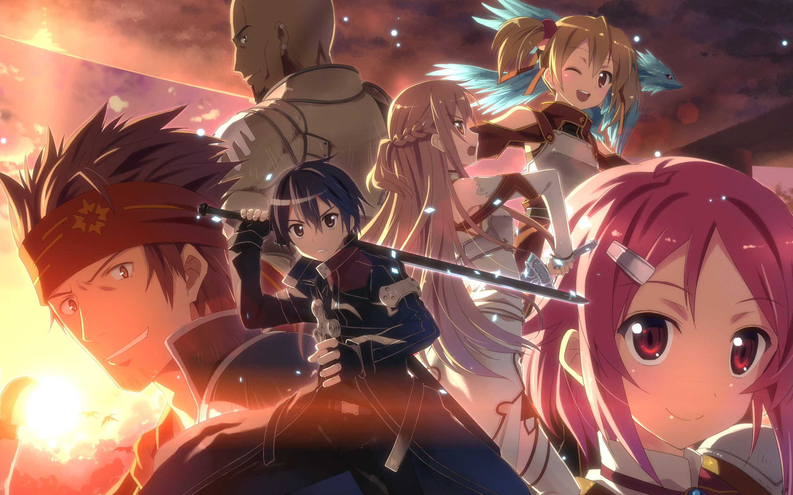 Anime – Sword Art Online Silica (Sword Art Online) Lisbeth (Sword Art Online