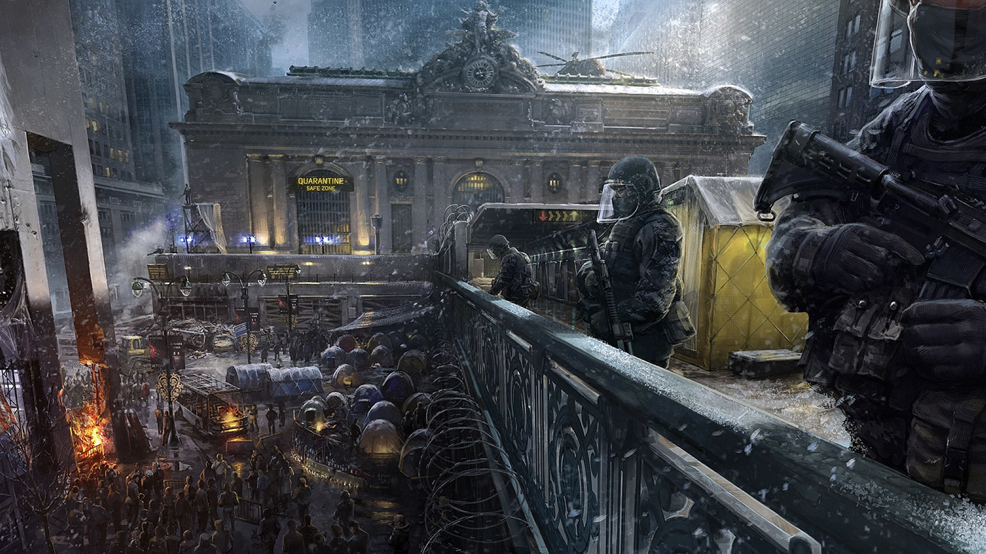 Tom Clancy's The Division Wallpapers