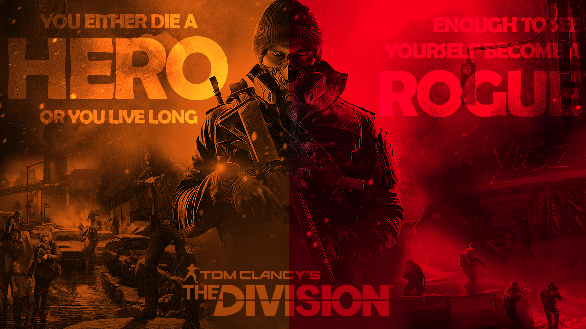 Become a Rogue – The Division Wallpaper …