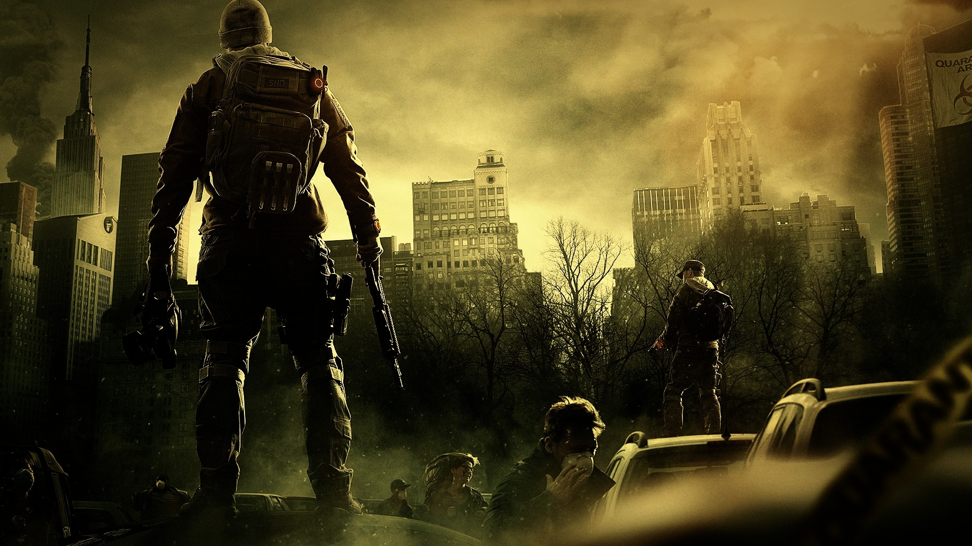 The Division Tom Clancy Xbox One Video Games Wallpaper