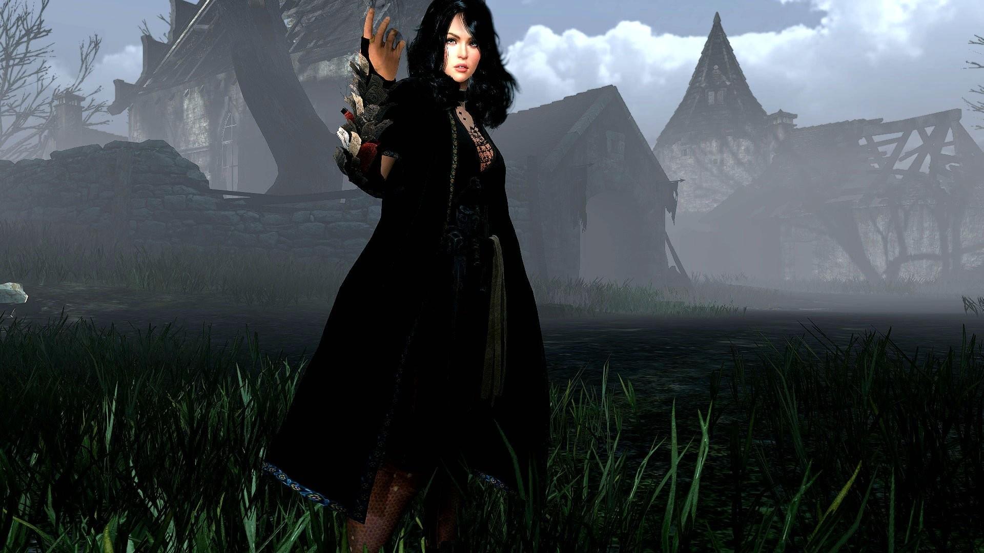 BLACK-DESERT online mmo rpg fantasy fighting action adventure black desert  (22) wallpaper