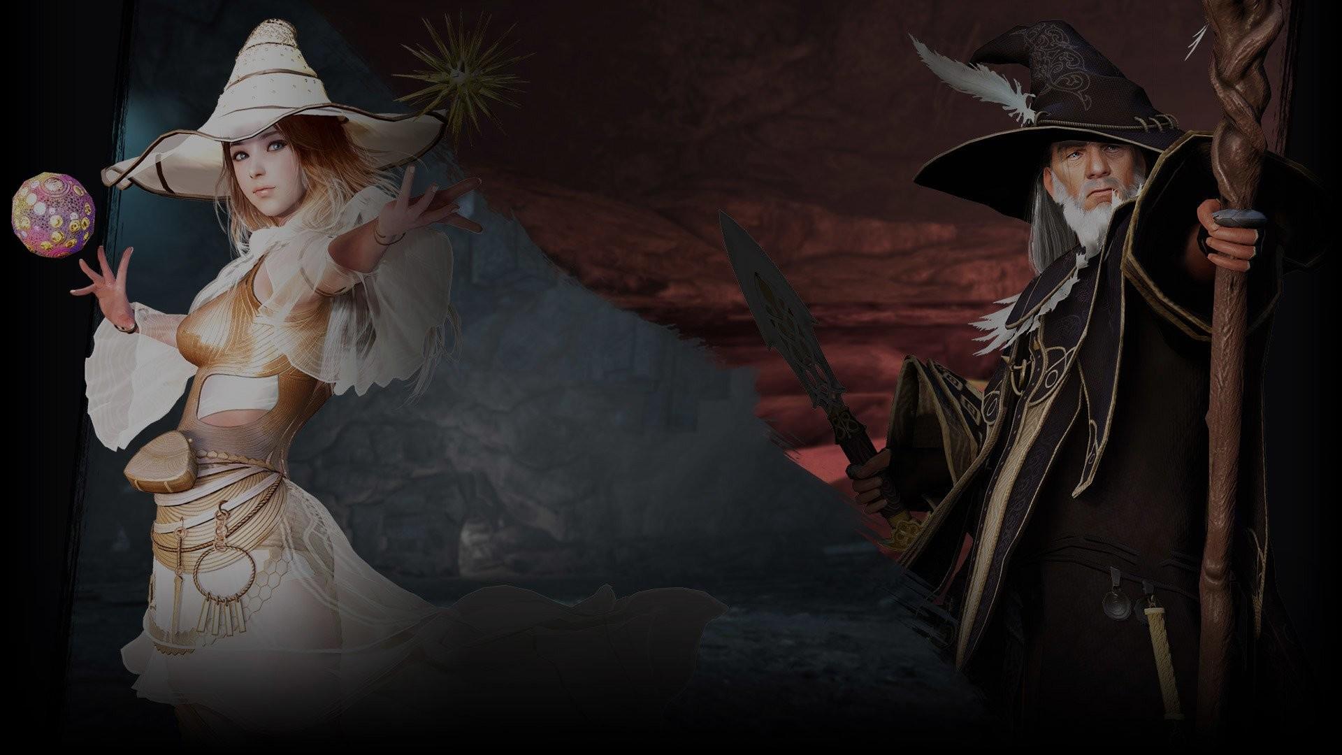 Video Game – Black Desert Online Witch (Black Desert Online) Wizard (Black  Desert