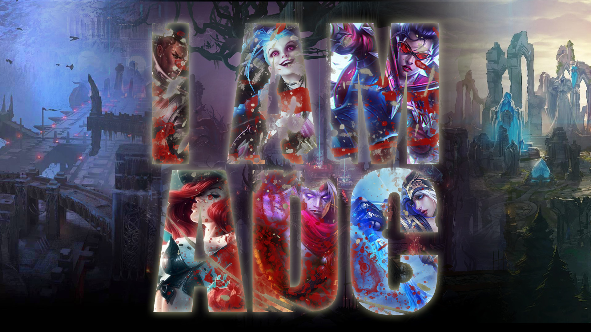 46 Vayne (League Of Legends) HD Wallpapers | Backgrounds – Wallpaper Abyss