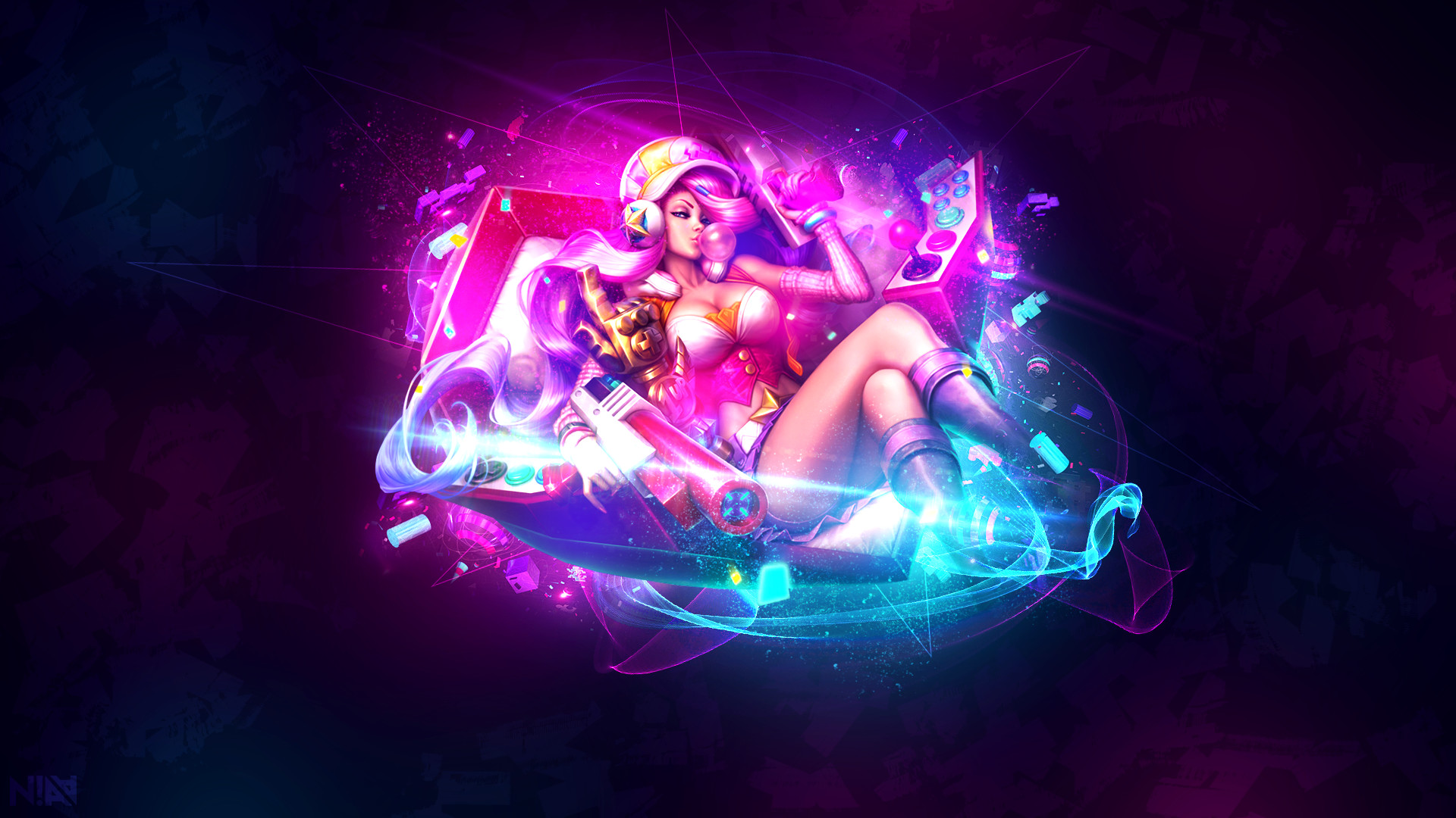 Miss Fortune, League of Legends, ADC, Marksman, Arcade