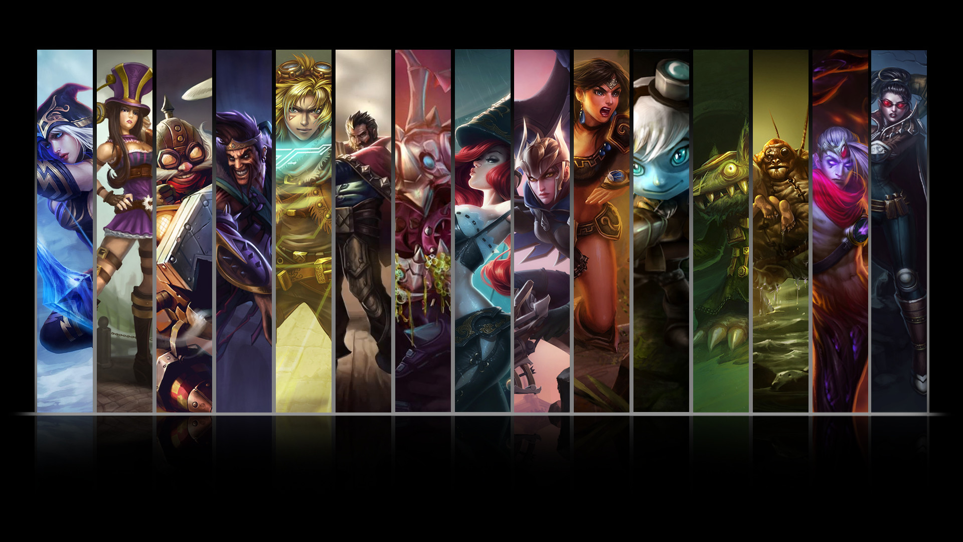 League of Legends ADC Wallpaper by NibblesMeKibbles League of Legends ADC  Wallpaper by NibblesMeKibbles