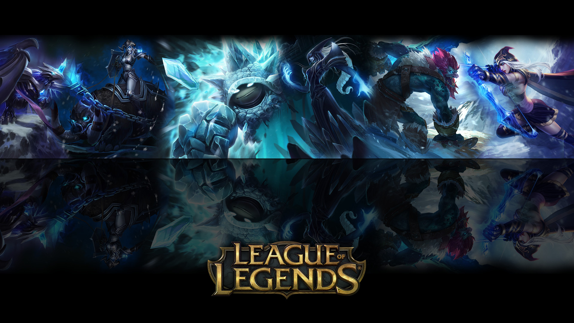 Wallpaper League of legends by ViciousBlue Wallpaper League of legends by  ViciousBlue