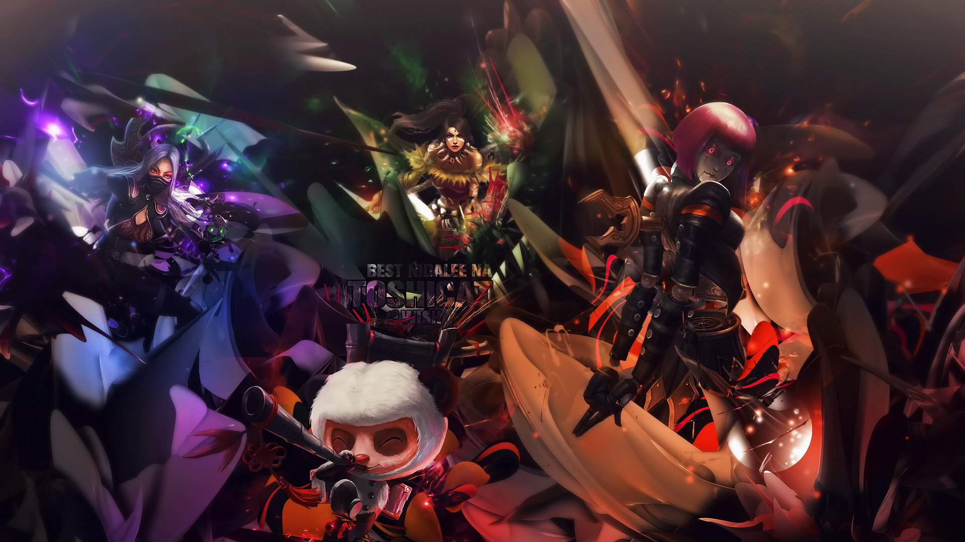 League of Legends Wallpaper by Wishlah League of Legends Wallpaper by  Wishlah