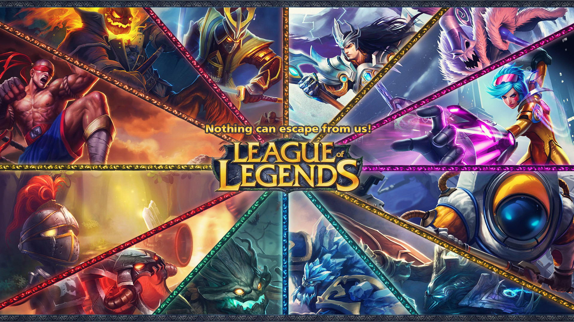 … League of Legends Jungle Kit wallpaper by Utitake