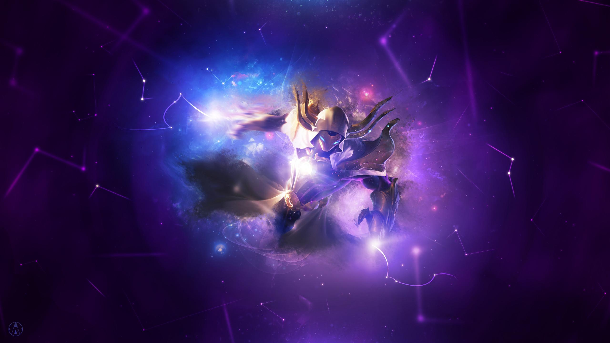 Aynoe 6 2 Cosmic R. Kassadin ~ League of legends – Wallpaper by Aynoe