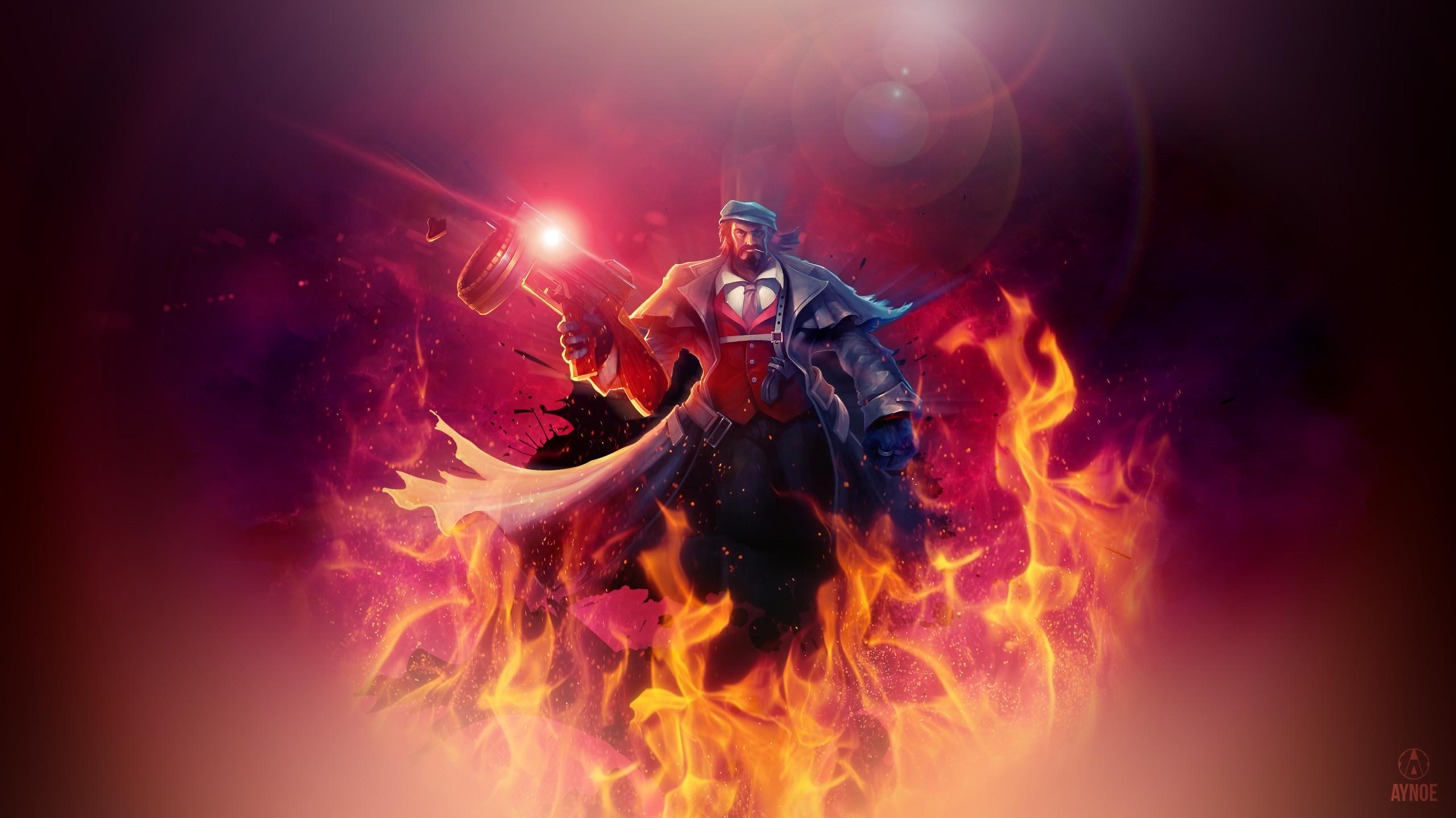 General League of Legends ADC grave