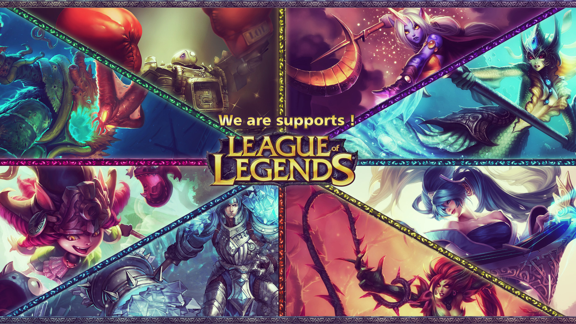 League of Legendes Supports Wallpaper by Utitake League of Legendes  Supports Wallpaper by Utitake