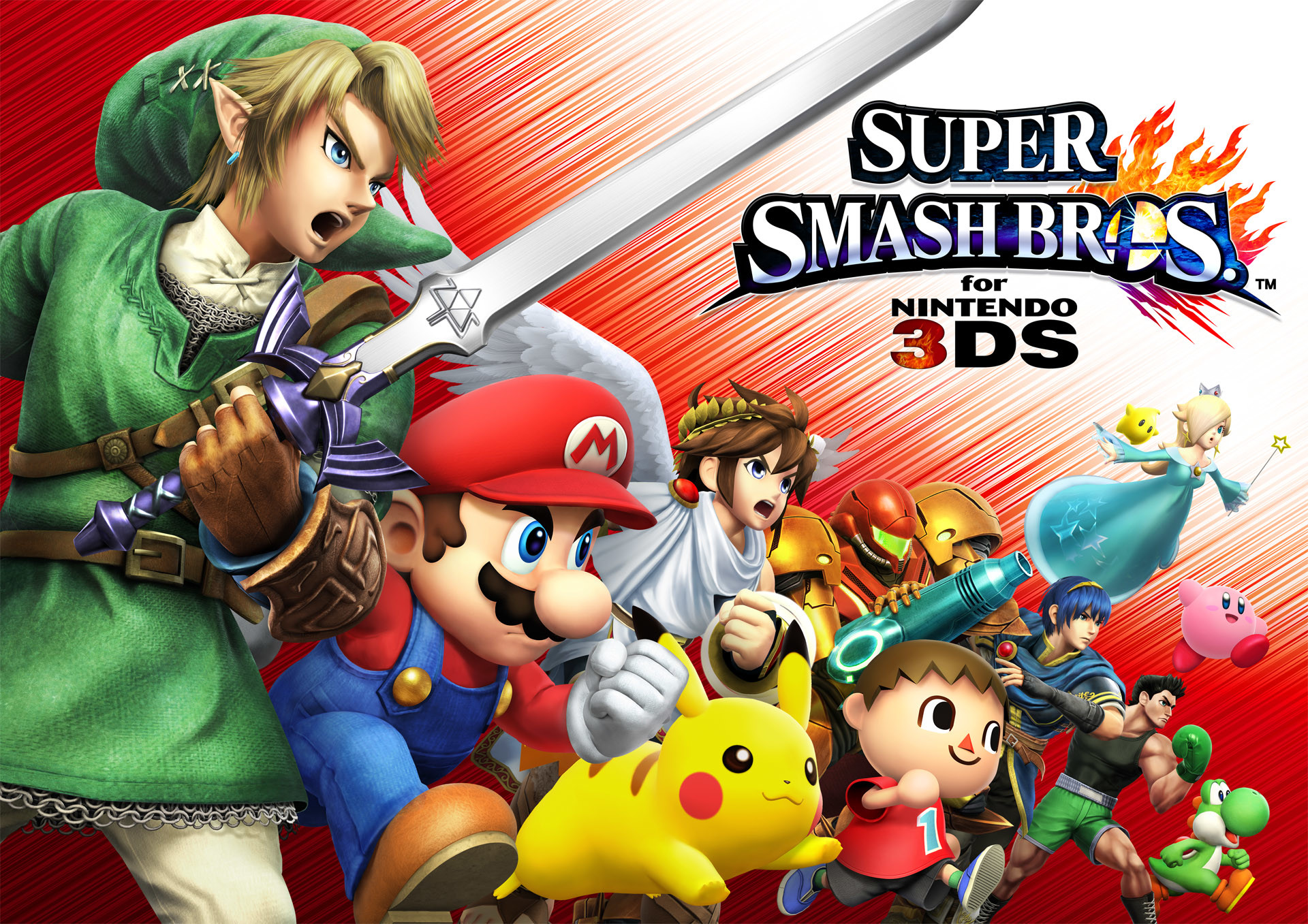 All contents for Super Smash Bros. for Nintendo 3DS on 3DS
