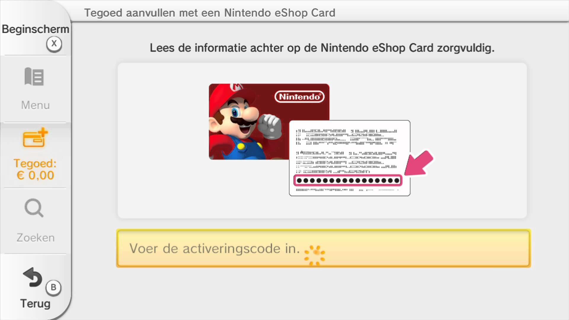 Nintendo 3ds eshop code generator