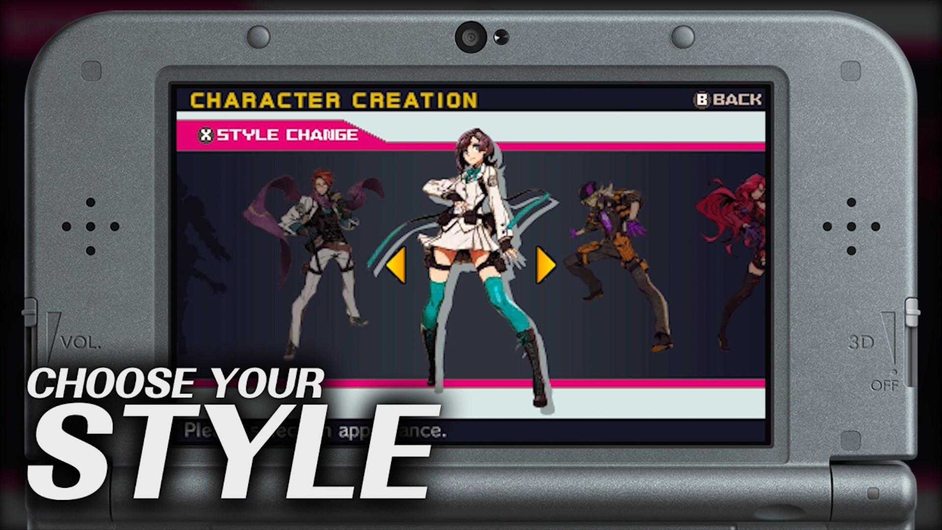 New 7th Dragon III Code: VFD Video Details Character Customization –  Segalization
