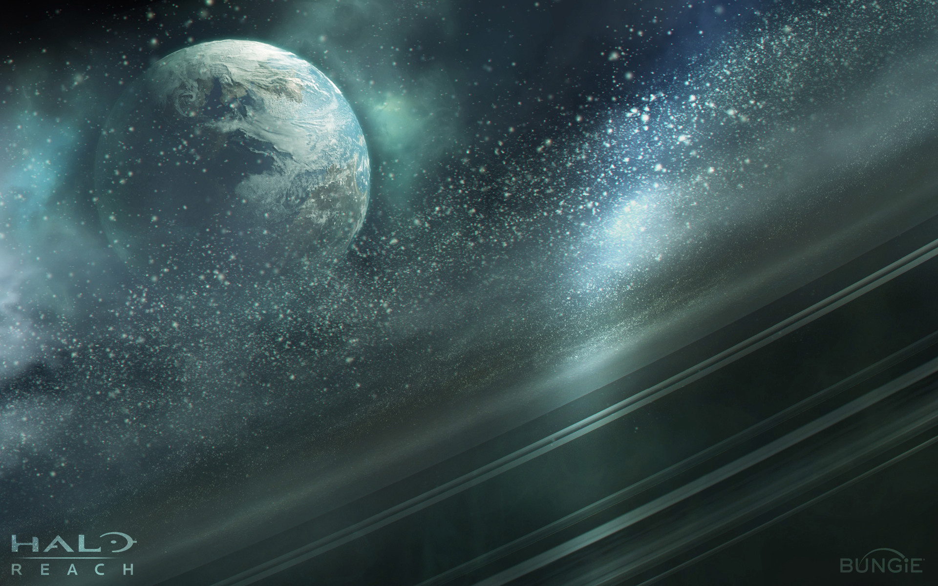 Halo Ring Widescreen HD Wallpapers