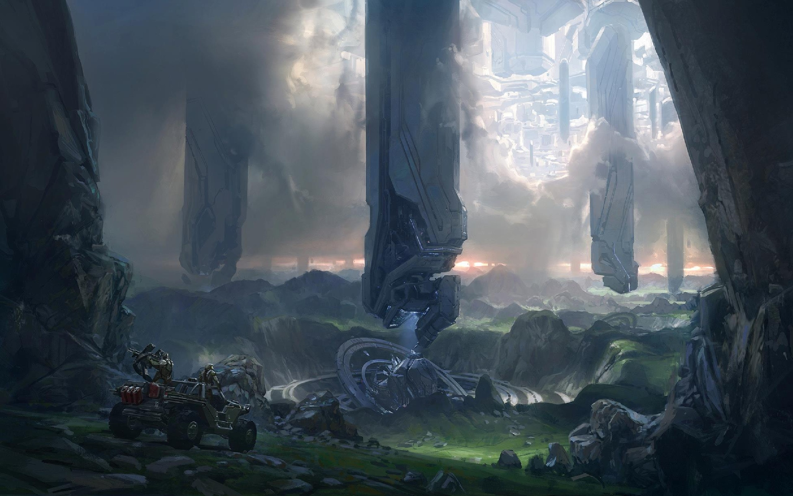 Halo HD Wallpapers Backgrounds Wallpaper 2560×1600