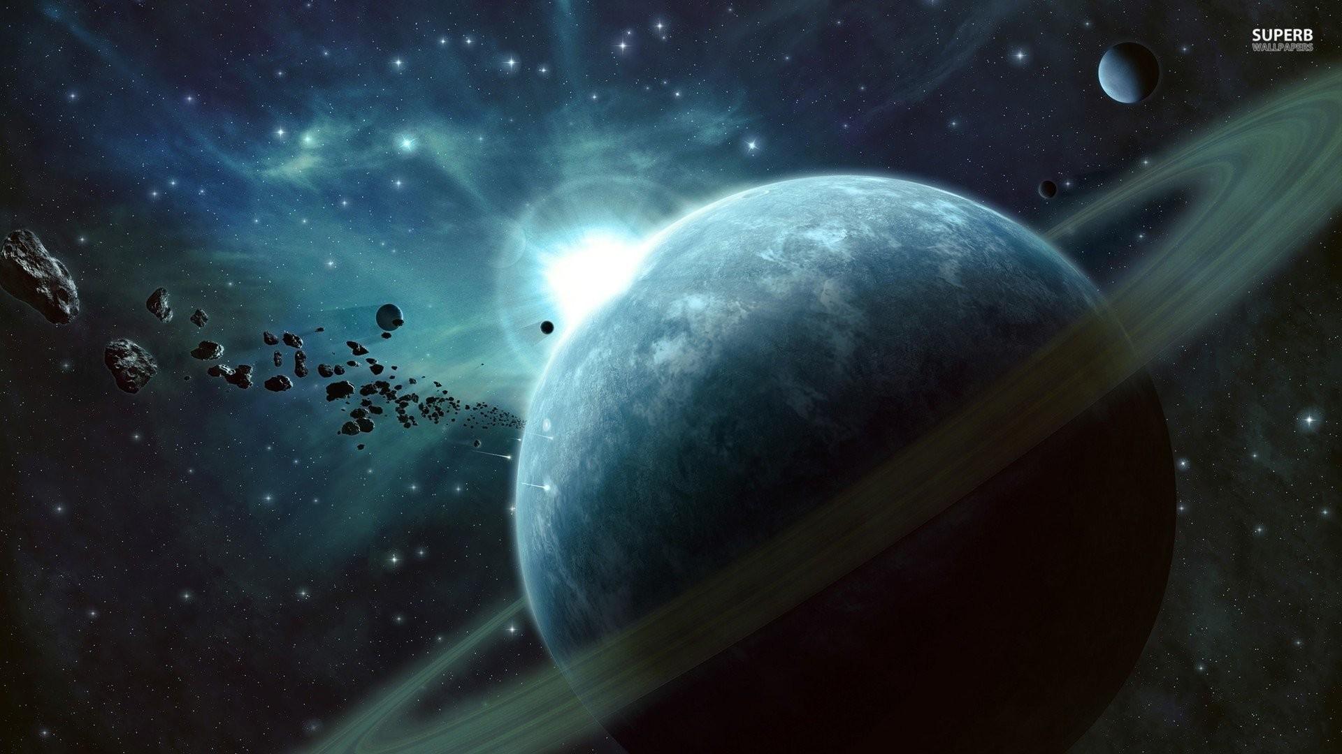 Ringed Planet 495601