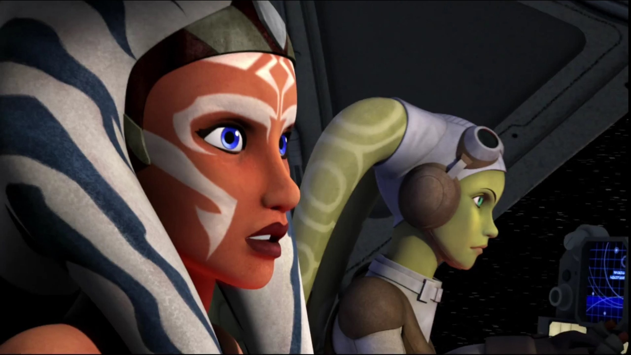 Star Wars Rebels Ahsoka and Hera wallpaper | | 667838 |  WallpaperUP