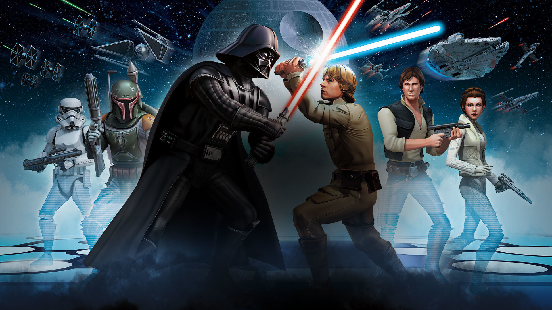 Star Wars Galaxy of Heroes gets Androidexclusive content ahead